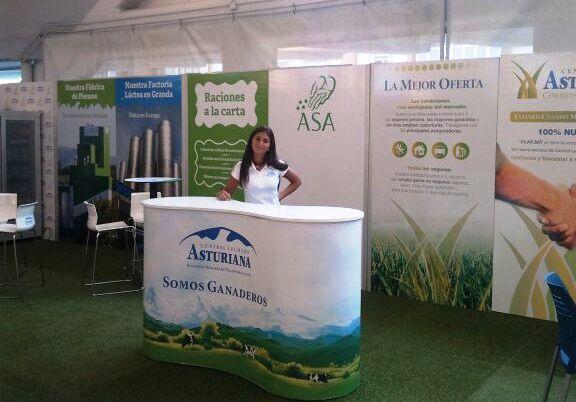 AGROSIERO: Stand Central Lechera Asturiana