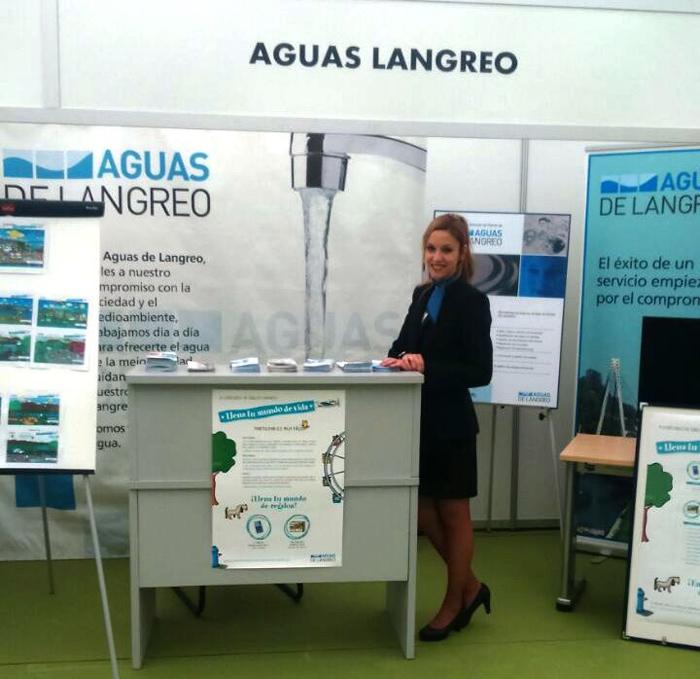 AZAFATA FERIA EXPOENERGÍA: Stand Aguas Langreo