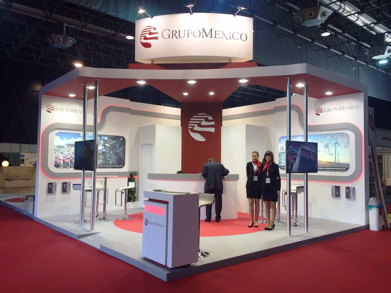 SPAIN MINERGY FERIA: Grupo Mexico
