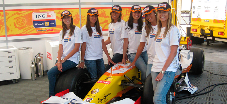 Roadshow Fernando Alonso- Org y Azafatas Agencia Evento