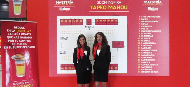 AZAFATAS AGENCIA EVENOT: Gijón de Tapas