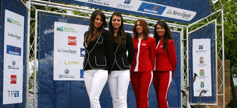 AZAFASTAS AGENCIA EVENTO: Podium vuelta ciclista Asturias